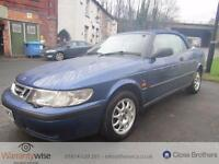 SAAB 9-3 SE TURBO ECO, Blue, Manual, Petrol, 1999