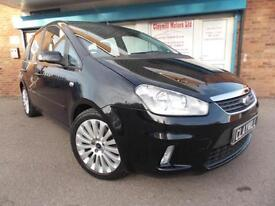 Ford C-MAX 2.0TDCi Titanium Diesel Manual Black 2008 (08)