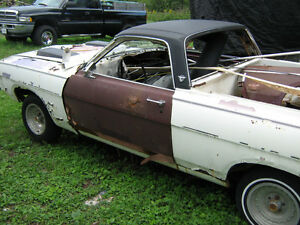 1968 ford Ranchero parts Cars have 2