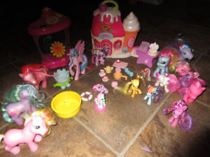 my little pony sweetshop ponies and accessories