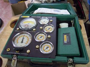 Engine pressure group tester