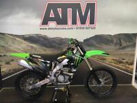 KAWASAKI KXF250 2012 MOTOCROSS BIKE, CLEAN FOR YEAR, OEM BIKE (ATMOTOCROSS)