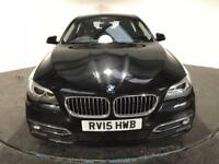 2015 15 BMW 5 SERIES 2.0 520D LUXURY 4D AUTO 188 BHP DIESEL