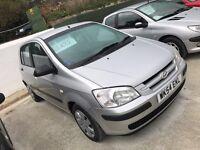 Hyundai getz 1.1 73,000 miles 12 months mot 6 months warranty