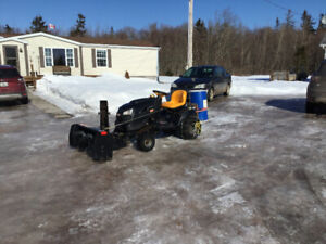 Tired of shovelling snow - Blower & /or Ride-on & Mower For Sale