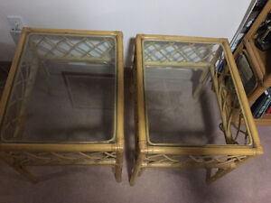 Two end tables and coffee table Peterborough Peterborough Area image 1