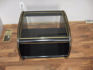 black glass end/coffee table