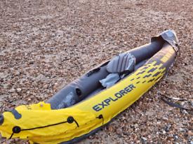 Intex Explorer 2 man Kayak