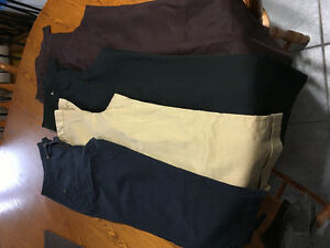 3 pairs of size 8 dress pants $10
