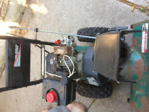 Murray ultra snowblower $50 as is for parts or repair