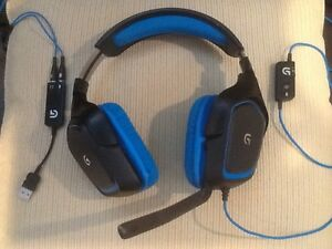 (New price) Pair Of Logitech G430 Gaming Headset