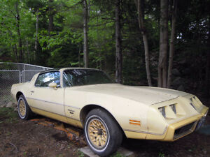 1980 FIREBIRD- T-BAR ROOF- ORIGINAL OWNER