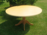 LARGE PEDESTAL TABLE