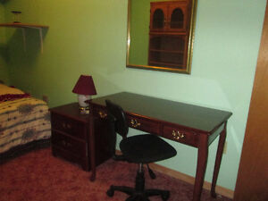FURNISHED BEDROOM IN SMOKE-FREE HOUSE-FEMALE ONLY