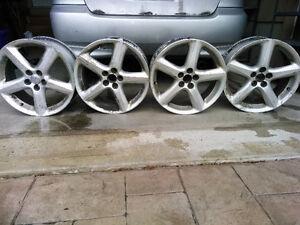 Toyota TRD Aluminum Racing Rims