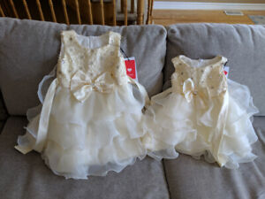 Ball Gown Knee-length Flower Girl or Special Occasion Dress