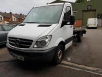 2009 Mercedes-Benz Sprinter 2.1TD 313CDI MWB RECOVERY TRANSPORTER BEVERTAIL