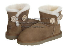 """AUSTRALIAN UGG ORIGINAL"" Classic Button Mini ugg boots, chestnut Darlinghurst Inner Sydney Preview"