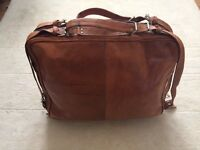 New Leather Travel Bag