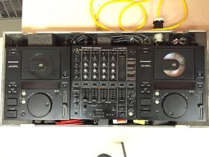 JBL EON G2 Powered Speakers with Pioneer Pro DJM & 2x CDJ player