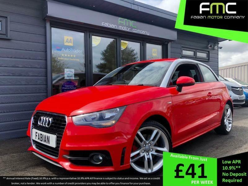2011 Audi A1 1 6TDI S Line **RED - DIESEL - FSH - SAT NAV** | in Swansea |  Gumtree