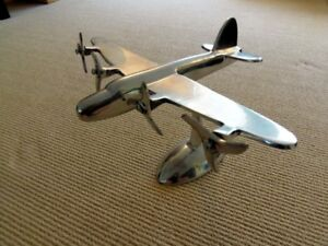 Art Deco Airplane Model on Stand