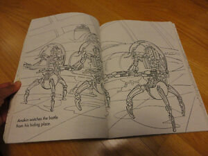 Star Wars Episode 1 Giant Coloring book London Ontario image 4