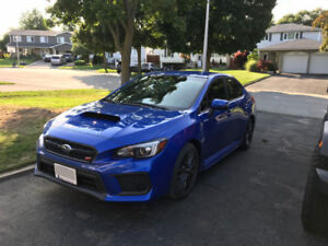 2018 Subaru WRX STI Lease take over