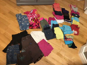 Lot de vêtements fille 7-8 ans
