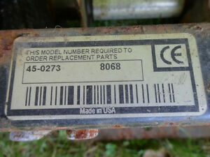 Agri-Fab Riding Lawn Mower Attachment (made in the USA) Cornwall Ontario image 2