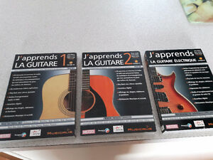 cd-rom pc  j'apprend la guitare