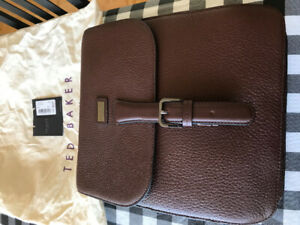 Purse Ted Baker Men's Brown Leather
