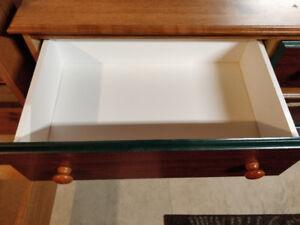 Bed frame and dresser