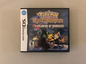 Pokemon Mystery Dungeon for the Nintendo DS