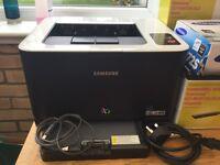 Samsung colour Laser Printer CLP325 plus 6 toners