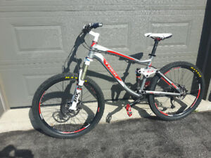 Full suspension mountain bike or swap for fat