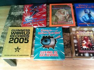 Livres hard cover Ripley's Believe it or not