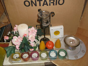 Candles & candle holders Cornwall Ontario image 1