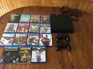 PS4 and lots of games