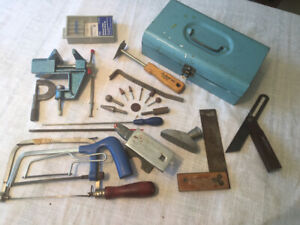 Hobby tools - Collection of tools for metal and wood hobbiests