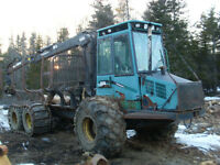 1999 Timberjack Forwarder 1010B