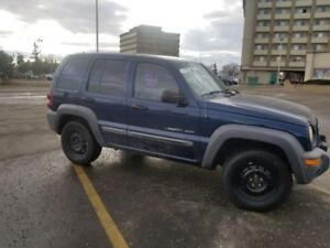 2003 Jeep Liberty 4dr Sport 4WD .... NO CREDIT REFUSED....oac
