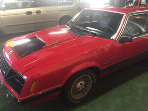 Mustang 79 Mecanique A1 body A1