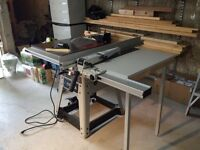 "Delta 10"" left tilt contractor's table saw"