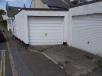 Large single garage in Heavitree
