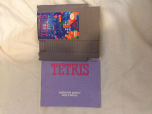 Tetris for Nes with manual