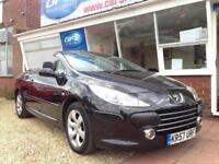 2008 57 Peugeot 307 CC 1.6 16v Coupe Allure Convertible