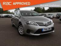 2014 TOYOTA AVENSIS 2.0 D 4D Active Bluetooth 1 Owner GBP30 Tax Aircon