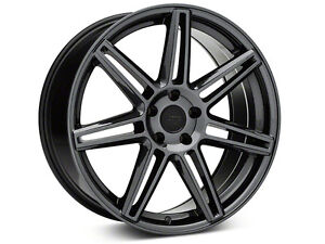 Niche lucerne black chrome 20x9/10 staggered mustang rims