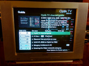 Sony TV Wega Trinitron 27in Price reduced! - $75 (Vancouver)